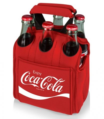 Coca-Cola Six Pack Insulated Cooler Tote Red