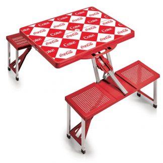 Coca-Cola Diamond Shaped Foldable Picnic Table