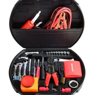Deluxe Roadside Emergency 132 piece Kit