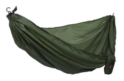 Forest-Green-Ultralight-Hammock-with-S-Hooks