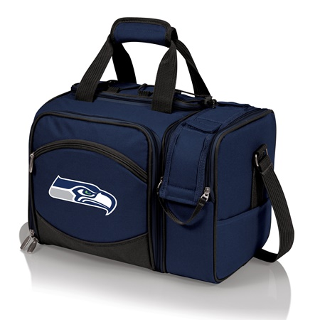 459f536800d Seattle Seahawks Malibu Picnic Cooler Tote - Home to Outdoors