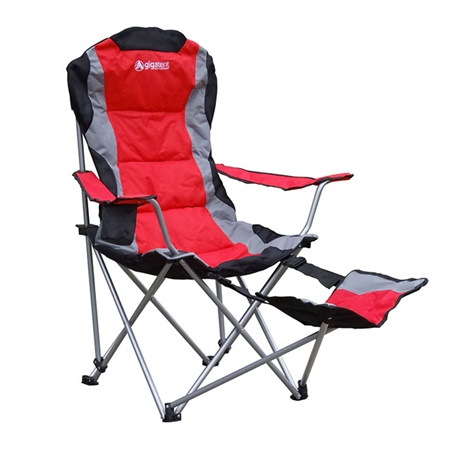 Camping Chair With Adjustable Footrest Home To Outdoors
